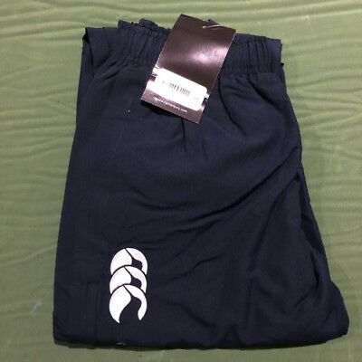 Preowned Canterbury Kids (Year 10) Cuffed Stadium Pants Navy -Free Quick Post