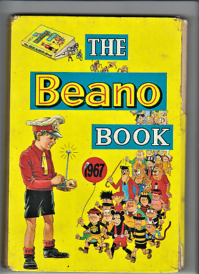 THE BEANO ANNUAL 1967 Comic book (published 1962)