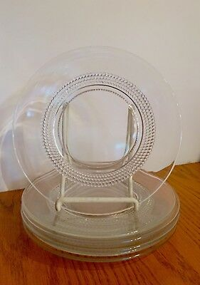 "Vintage Art Deco 1936 Duncan & Miller ""tear Drop"" Pattern Set Of 6 Lunch Plates"