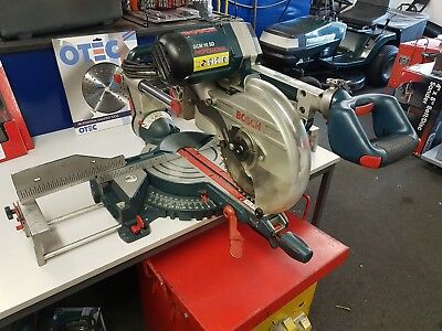 Bosch GCM 10 SD Radial Arm Mitre Saw 110v PAT TESTED