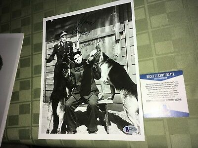 Robery Clary Werner Klemperer Hogan's Heroes Signed 8x10 Photo Beckett Certified