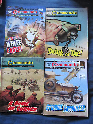 commando comics lot of Four