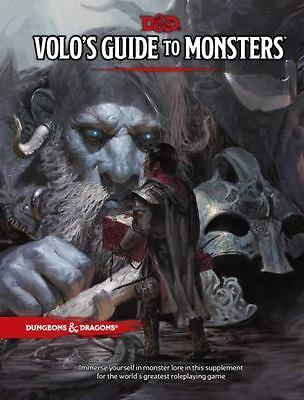 VOLO'S GUIDE TO MONSTERS by Wizards RPG Team (Hardcover, 2016)