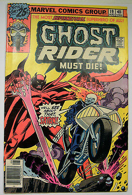 "Very Nice Ghost Rider Must Die  #19 Vol. 1  08/1976"" Marvel Comics ...#002"