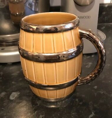 Vintage Wade Ireland - 1 Pint Barrel Tankard
