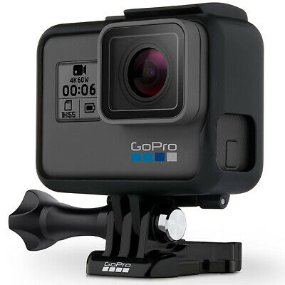 GoPro Hero 6 Black 12MP Waterproof 4K Action Camera Camcorder CHDHX-601