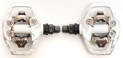 10ca401107f Shimano PD-M530 Trail Mountain Cyclocross Bike SPD Clipless Pedals 9/16