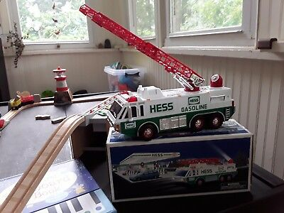 HESS 1996 Emergency Truck - New In Box