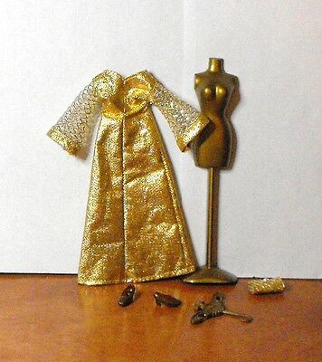 """Vintage Topper Glimmer Glamour"""" Fashion Outfit # 713 Lot 5-9-2"""