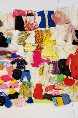 200 + Pieces Of Vintage Doll Clothing That Fits Dawn And Other 6 1/2 Inch Dolls