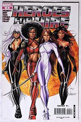 S140. HEROES FOR HIRE #4 Marvel 6.0 FN (2007) BILLY TUCCI BLACK CAT Cover =