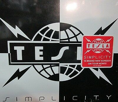 Simplicity  by Tesla NEW! CD 14 tracks, Hard Rock,Free Shipping!