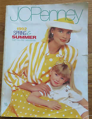 JC Penney 1992 Spring Summer Catalog clothes/home decor/kids/swimswuits
