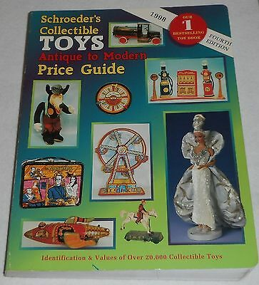 SCHROEDER'S COLLECTIBLE TOYS ~ Antique to Modern by Bob Schroeder, 4th Edition