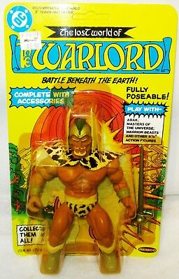1982 REMCO WARLORD DC Comics Lost World of the Warlord Action Figure MOC Pre UPC