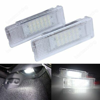 2X VW LED Luggage Trunk Boot Interior Light Golf Plus Caddy Jetta Transporter T5