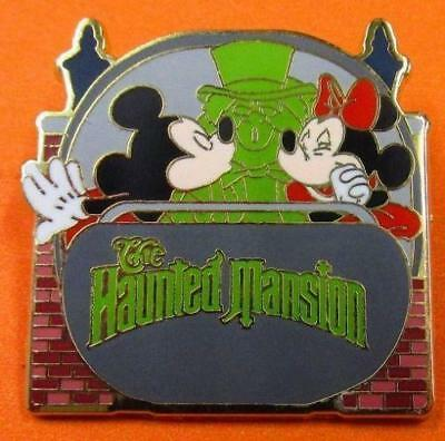 Disney Pin WDW Mystery Collection Mickey & Minnie Haunted Mansion Doom Buggy