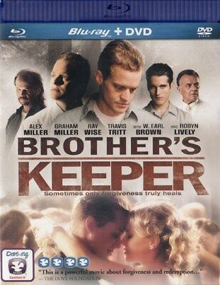 NEW Sealed Christian Drama WS BLU-RAY + DVD! Brother's Keeper (Robyn Lively)