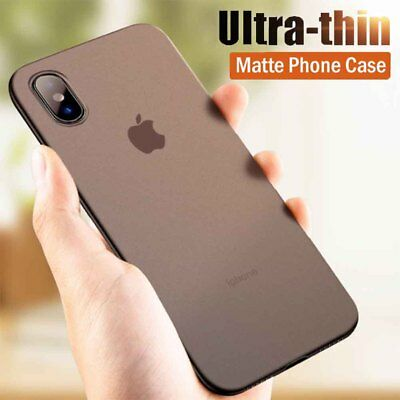 Luxury Ultra Thin Slim Matte Transparent PP Hard Case Cover For iPhone XS Max XR