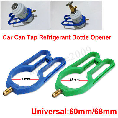 Universal R134A Car Can Air Refrigerant Bottle Opener Refrigeration Open Valve