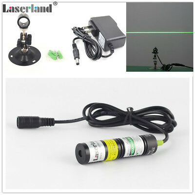 532nm 20mW Green Laser LINE Module Locator for Sawmill Woodwork adapter Mount
