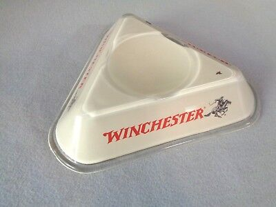 Winchester gun old rare antique advertising Wolf & Company change receiver tray