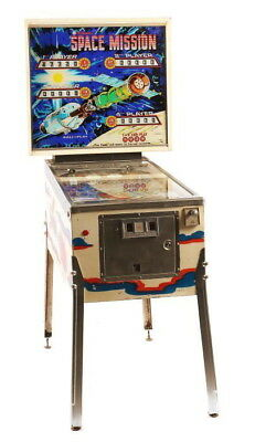 Voll funktionstüchtiger Flipper Pinball - Space Mission - Williams von 1976 - EM
