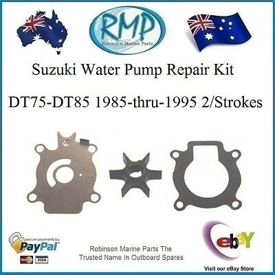 A Brand New Water Pump Repair Kit Suits Suzuki Outboards DT75-DT85 # 17400-95550