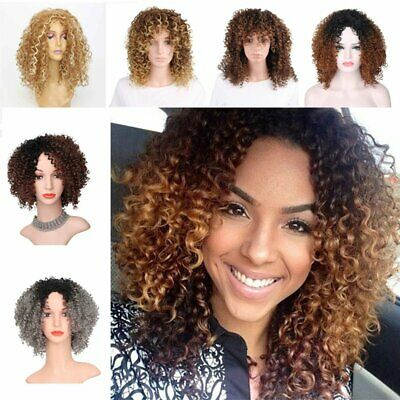 Lady Hair Curly Wavy Lace Front Wig Full Wigs with Baby Hair Afro Cruly Wave Wig