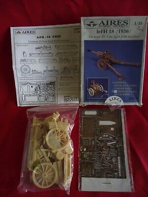 AIRES HOBBY MODELS, FH 18..1936 GERMAN 10,5cm HOWITZER ..1/35 ..(3007)