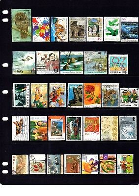 Australian sheet stamps, including high value, free post - off paper - Lot 418.