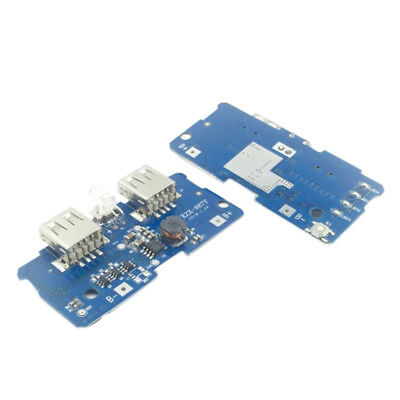 USB Li-Po 18650 5V Lithium Battery Protection Boost Charger Board For PowerBank&