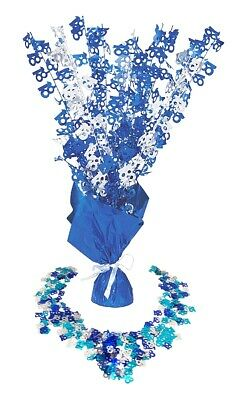 18th Table Decorations Birthday Party Age Mens Blue Boy Centrepiece Confetti