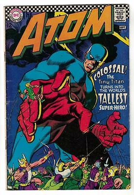DC Comic ATOM Silver age  #32 FN-  superman 1967