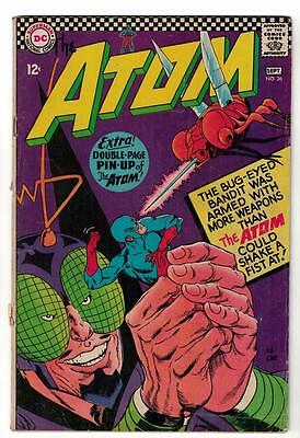 DC Comic ATOM Silver age  #26 VG+ superman 1966