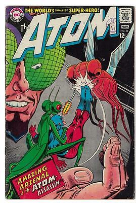 DC Comic ATOM Silver age  #33 FN  superman 1967