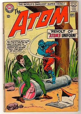 DC Comics ATOM  Silver age #14 1964 FN- 5.0  Kane cover
