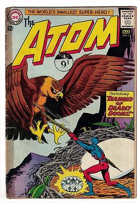 DC Comic ATOM Silver age  #5 G/VG- superman 1965