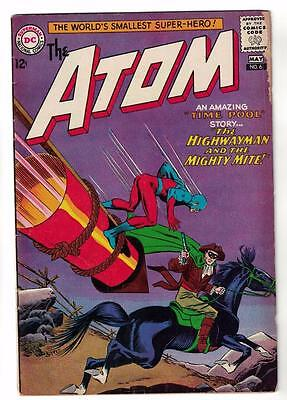 DC Comic ATOM Silver age  #6 VG+  superman 1965