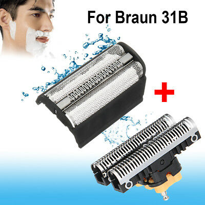 Shaver Foil + Cutter Blade Replacement For BRAUN 31B 350 370 380 5000series