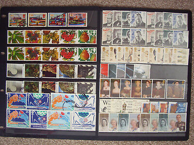 LOT#348t - GB QEII COMMEMORATIVE STAMPS (Multiple Listing) ISSUED 1993-1997 USED