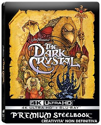 Dark Crystal  4K Uhd+Blu-Ray   Steelbook    Fantastico