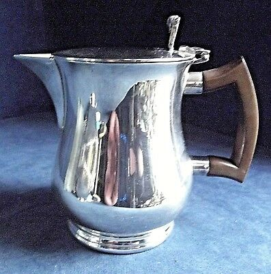 SUPERB ~ Aesthetic Styled ~ SILVER Plated ~ JUG ~ c1900 by Lee & Wigful