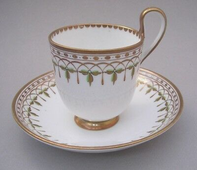 J. Bell & Co. Glasgow Scotland - Cup And Saucer - C. 1850