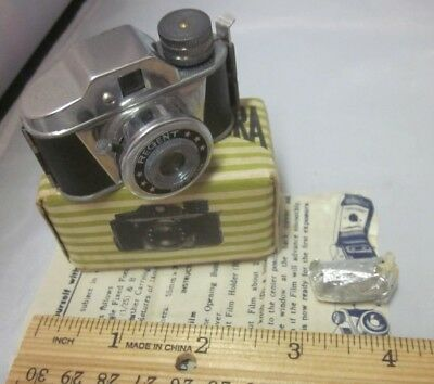 Vtg REGENT Miniature Camera  Subminiature W Box Papers Film Roll Made in Japan