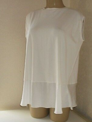 NEXT MATERNITY SLEEVELESS TOP SHIRT Size 10, 14 or 16 ~BNWT~ NAVY or IVORY
