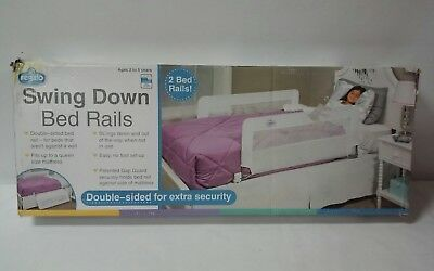 Regalo Double Sided Swing Down Bedrail for Extra Security
