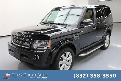 Land Rover LR4 HSE Texas Direct Auto 2015 HSE Used 3L V6 24V Automatic 4WD SUV Premium