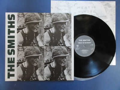 THE SMITHS MEAT IS MURDER Rough Trade 85 A1B2 UK 1st pr nr EX VINYL