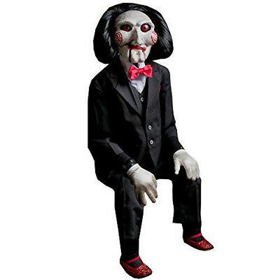 SAW Jigsaw Billy Puppet 47 Inch Halloween Costume Prop | Trick or Treat Studios